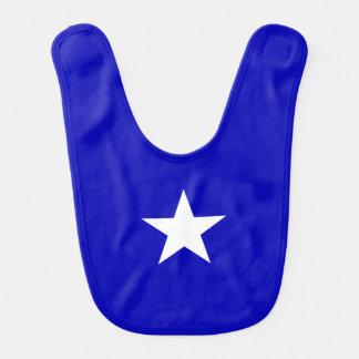 Babador Infantil Bandeira azul Bonnie