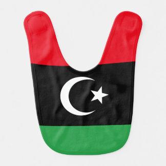 Babador Infantil Bandeira de Líbia