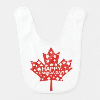 Babador Infantil Celebração do dia de Canadá
