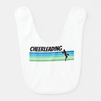 Babador Infantil Cheerleading retro