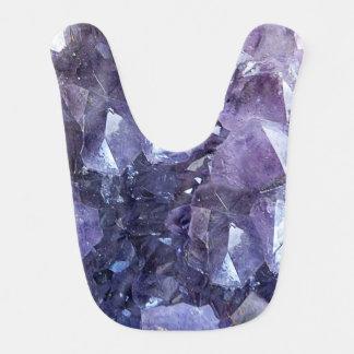 Babador Infantil Conjunto de cristal Amethyst