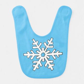 Babador Infantil Floco de neve