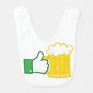 Babador Infantil Like beer