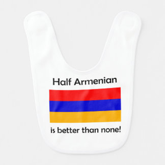 Babador Infantil Meio arménio