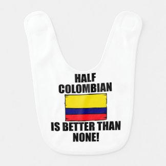 Babador Infantil Meio colombiano é melhor do que nenhuns