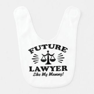 Babador Infantil O advogado futuro gosta de minhas mamães