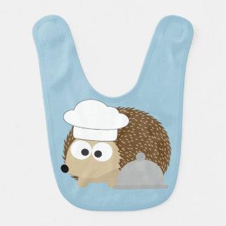 Babador Infantil Ouriço do cozinheiro chefe