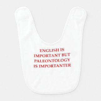 Babador Infantil palenotology