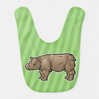 Babador Infantil Rinoceronte de Sumatran