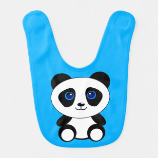 Babador Infantil Urso de panda pequena bonito