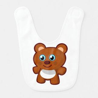 Babador Infantil Urso de ursinho