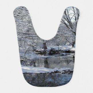 Babador invernal do bebê de New Hampshire do rio