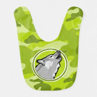 Babador Lobo; camo verde-claro, camuflagem