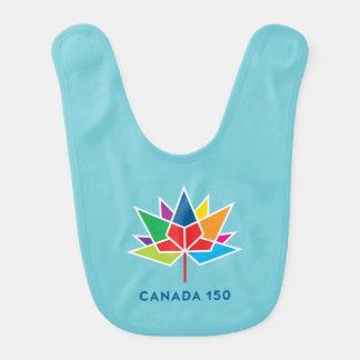 Babador Logotipo do oficial de Canadá 150 - multicolorido