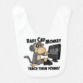 Babador Macaco do CAD do bebê