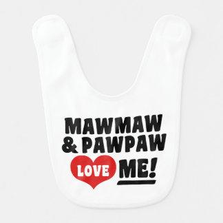 Babador MawMaw e o PawPaw amam-me
