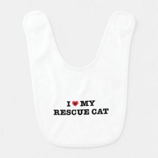 Babador Mim coração meu gato do salvamento