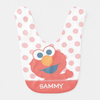 Babador O bebê Elmo | adiciona seu nome