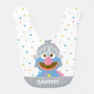 Babador O bebê Grover na armadura | adiciona seu nome