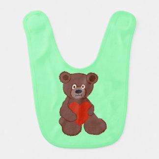 Babador O ursinho tem um coração