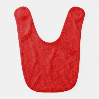 Babador Paisley vermelho