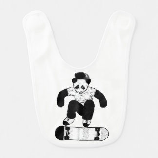 Babador Panda Skateboarding