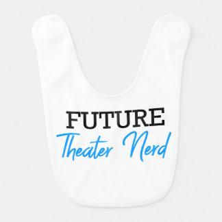 Babador Para o azul futuro do nerd do teatro
