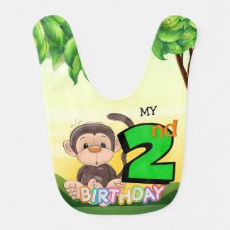 Babador Partido de segundo aniversário do macaco