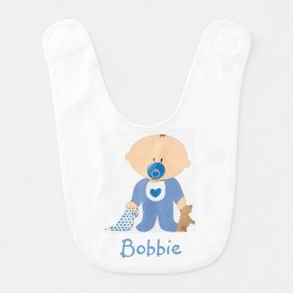 Babador personalizado do bebé