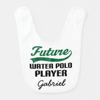 Babador personalizado do bebê do pólo aquático