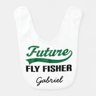 Babador personalizado Fisher futuro do bebê da