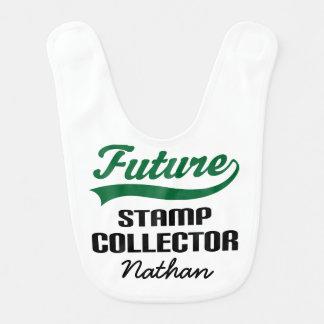 Babador personalizado futuro do bebê do coletor de