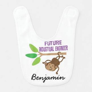 Babador personalizado futuro do bebê do engenheiro