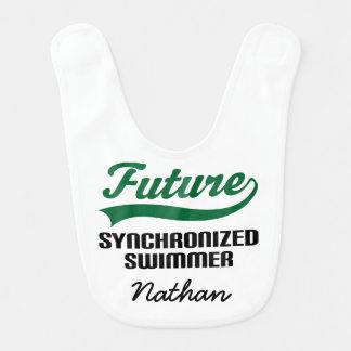 Babador personalizado nadador sincronizado futuro
