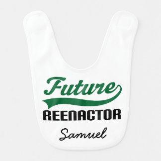 Babador personalizado Reenactor futuro do bebê