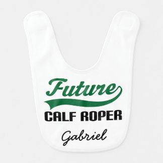 Babador personalizado Roper futuro do bebê da