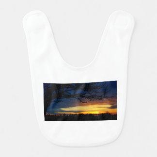 Babador Por do sol do azul da ilha