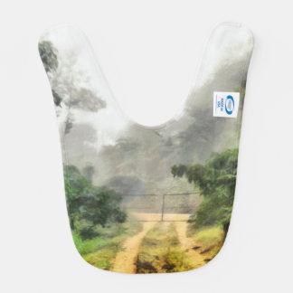 Babador Porta, hortaliças e névoa