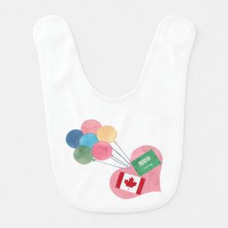 babador saudita-canadense do bebê