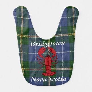 Babador Tartan Bridgetown Nova Escócia do verão do