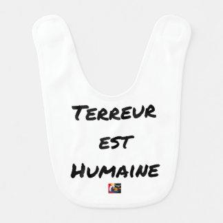 Babador TERROR LESTE HUMANO - Jogos de palavras François