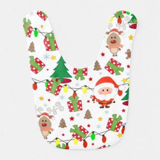 Babador Teste padrão do papai noel e do Rudolph