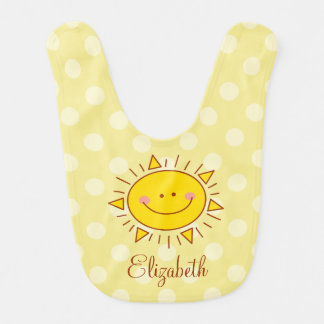 Babador Você é meu bebê ensolarado do smiley bonito feliz