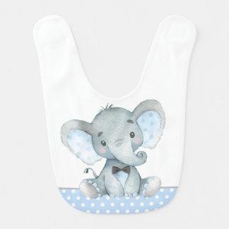 Babadores do bebê do elefante do menino