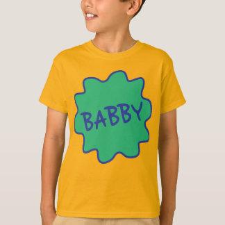 Babby, o T das crianças do calão de Manchester Camiseta