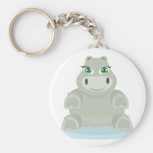 Baby Hippo Chaveiro