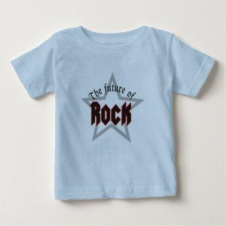 Baby-Rock Camiseta Para Bebê