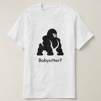 Baby-sitter de Harambe Camiseta