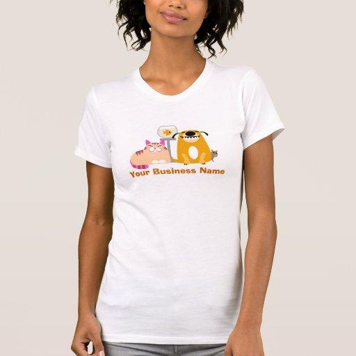 Baby-sitter do animal de estimação camisetas