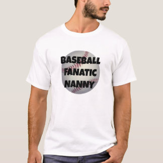 Baby-sitter do fanático do basebol camiseta